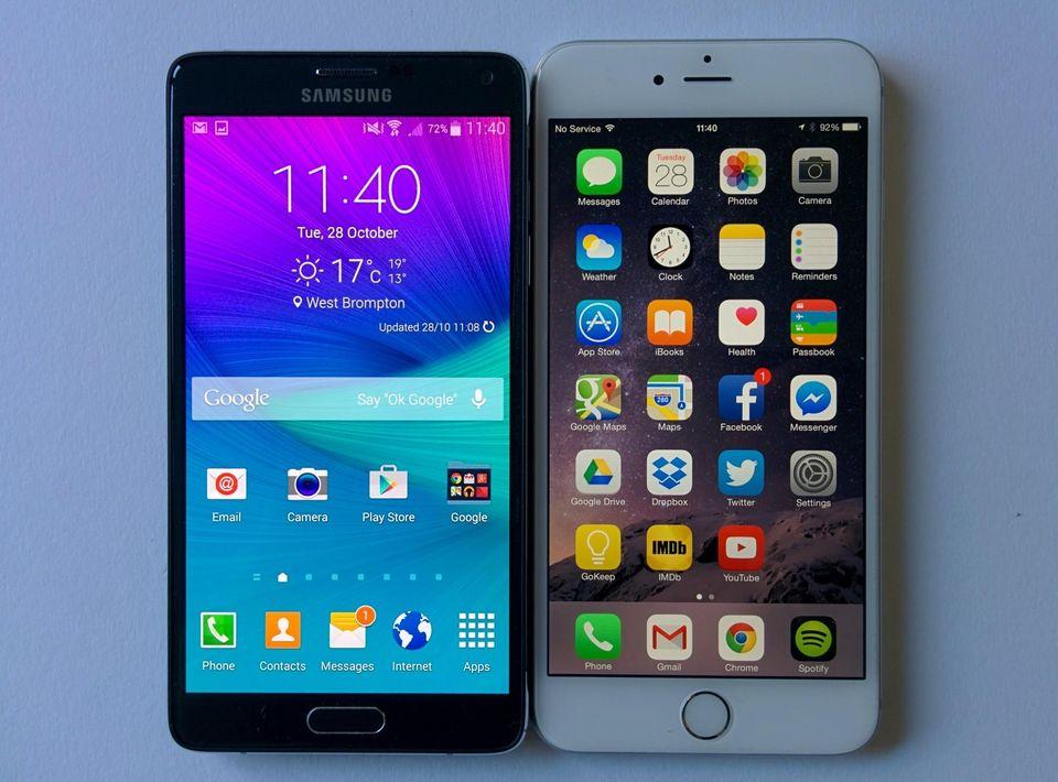 smartphone vs iphone