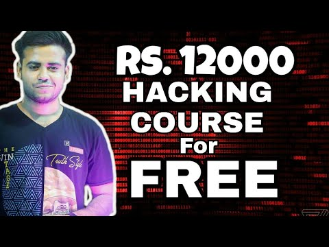 🔥12000 rupees ethical hacking course for free | masters in ethical hacking course with Android📚 | Video