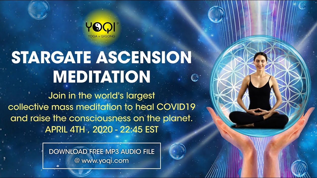APRIL 4th, 2020 Global Meditation for Healing and Awakening (free audio download) | Video