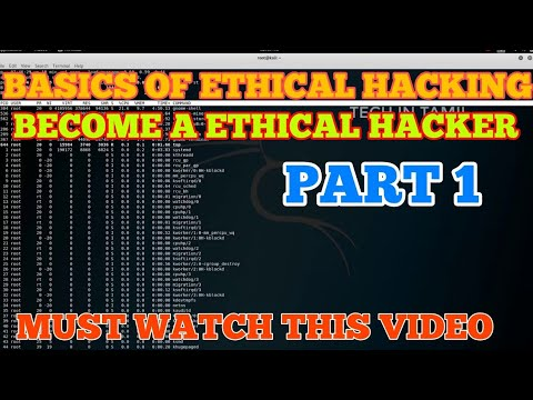 Basics of Ethical Hacking    part-1    Tech In Tamil   Video