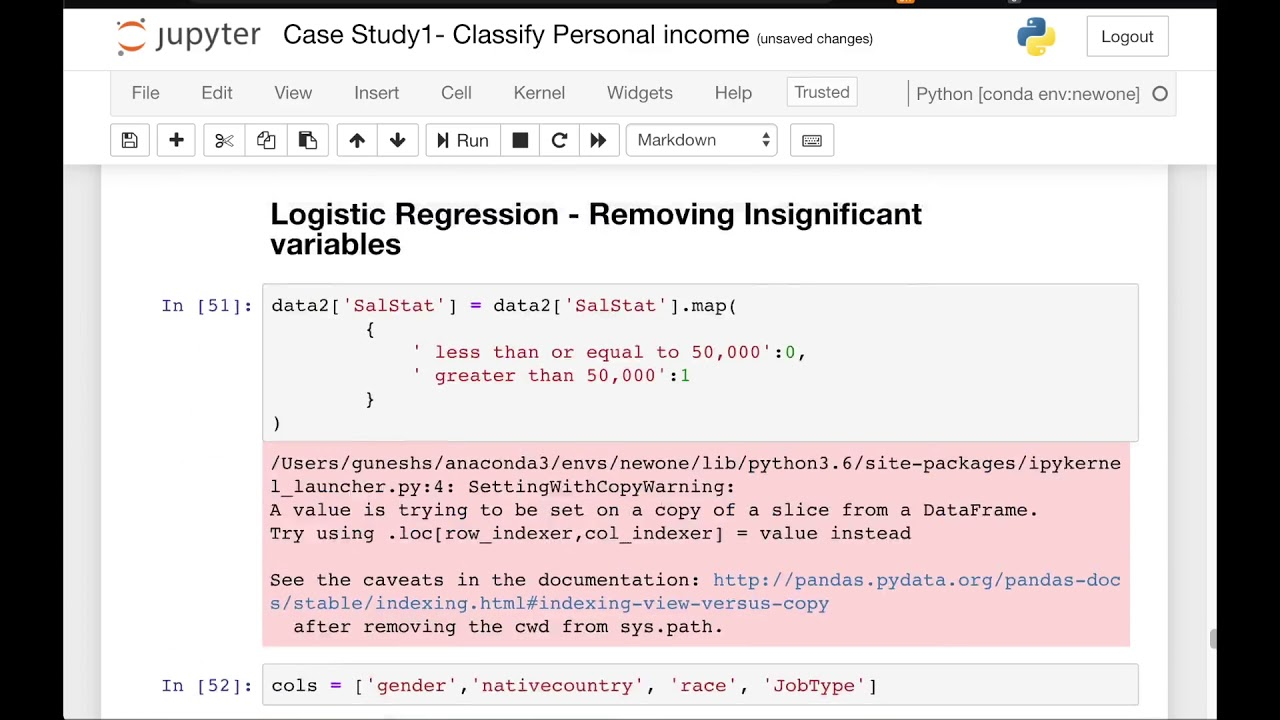 Data Science For Beginners with Python  22 – Case Study 1 – Improving KNN Model Accuraccy | Video