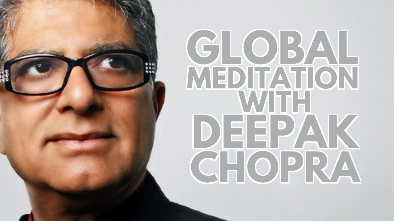 Deepak's Live Global Meditation   Video