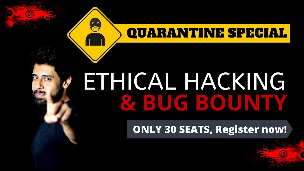 Ethical Hacking & Bug Bounty Live Bootcamp | Video