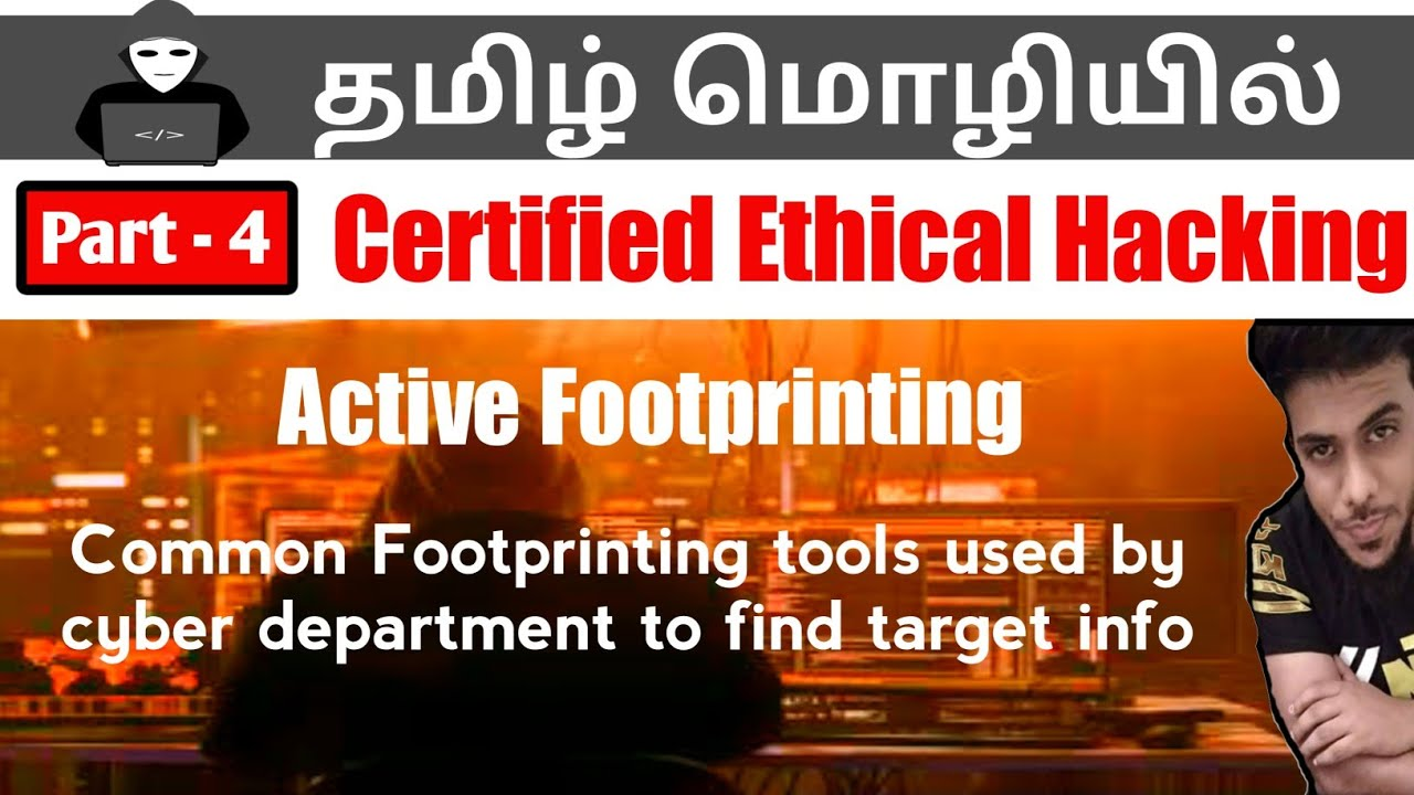 Ethical hacking course in TAMIL   PART 3    Foot printing Tools Lab    Tamil Tech with MF   Video