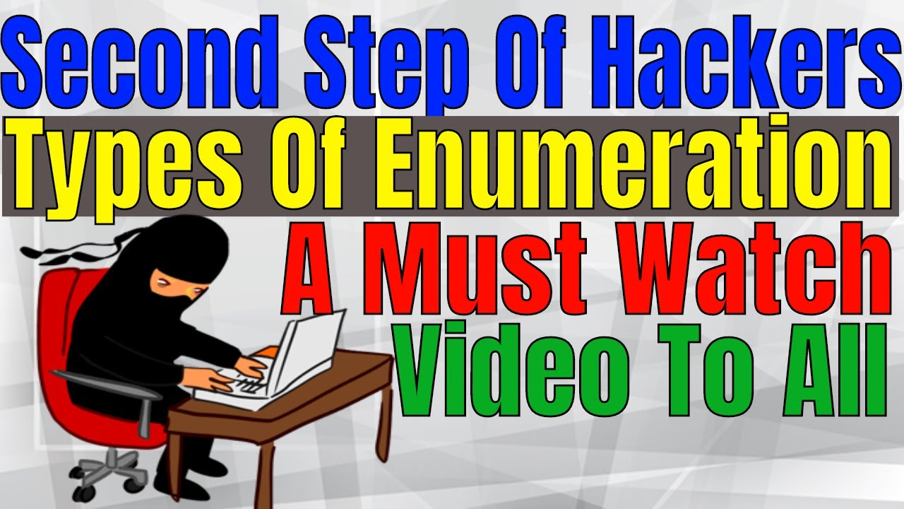Ethical Hacking Tutorials in Hindi Class-8 (Part 2) | Explain Different Ways of Enumeration | Video