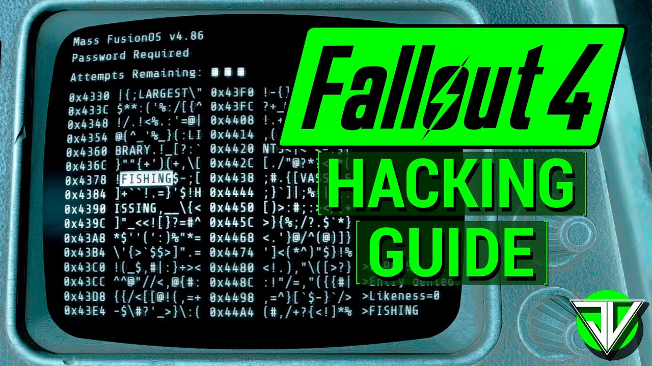FALLOUT 4: The ULTIMATE Hacking Guide! (Everything You Need To Know About Hacking in Fallout 4) | Video
