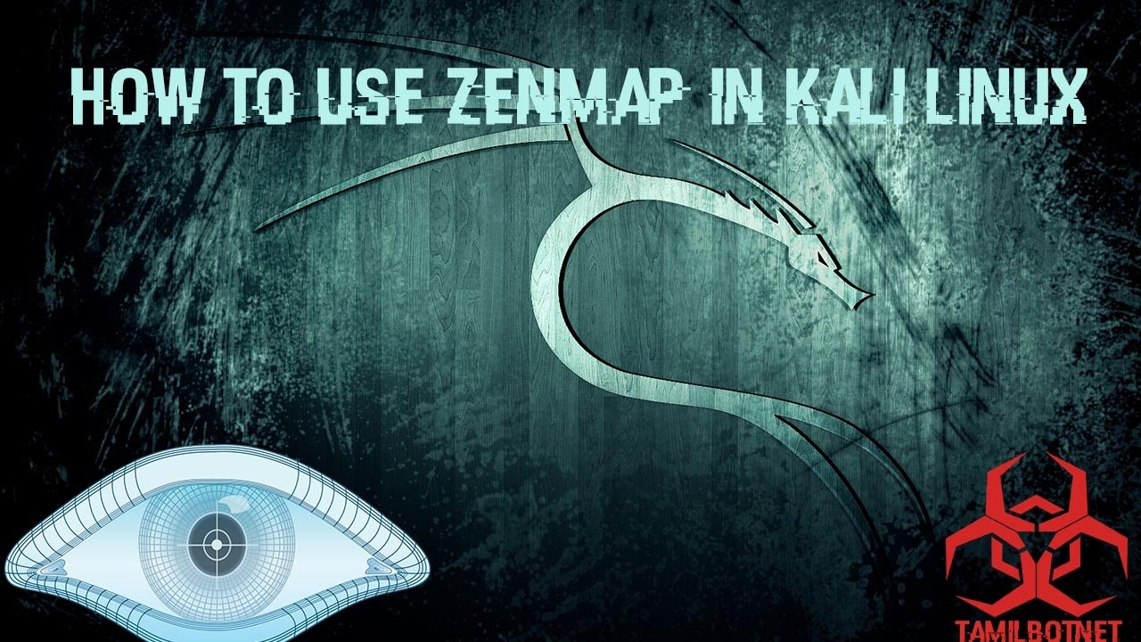 How to use Zenmap in kali Linux-Tamil Hacking Tutorial   Video