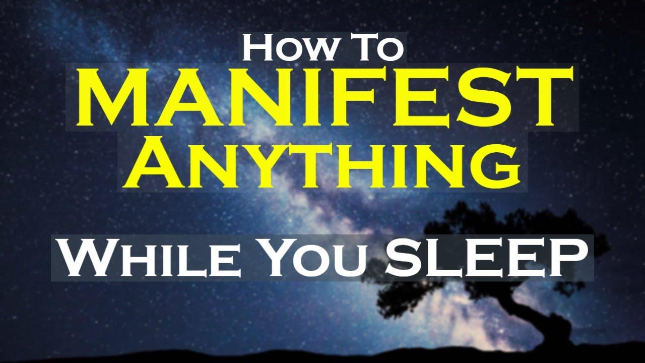 MANIFEST Anything While You Sleep Meditation ~ Listen Nightly   Video