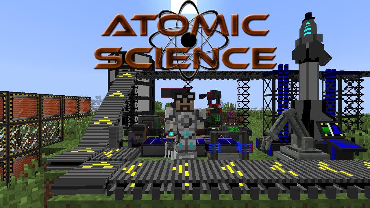 Minecraft Mod Tutorials – Universal Electricity – Atomic Science #2 (Deutsch HD) | Video