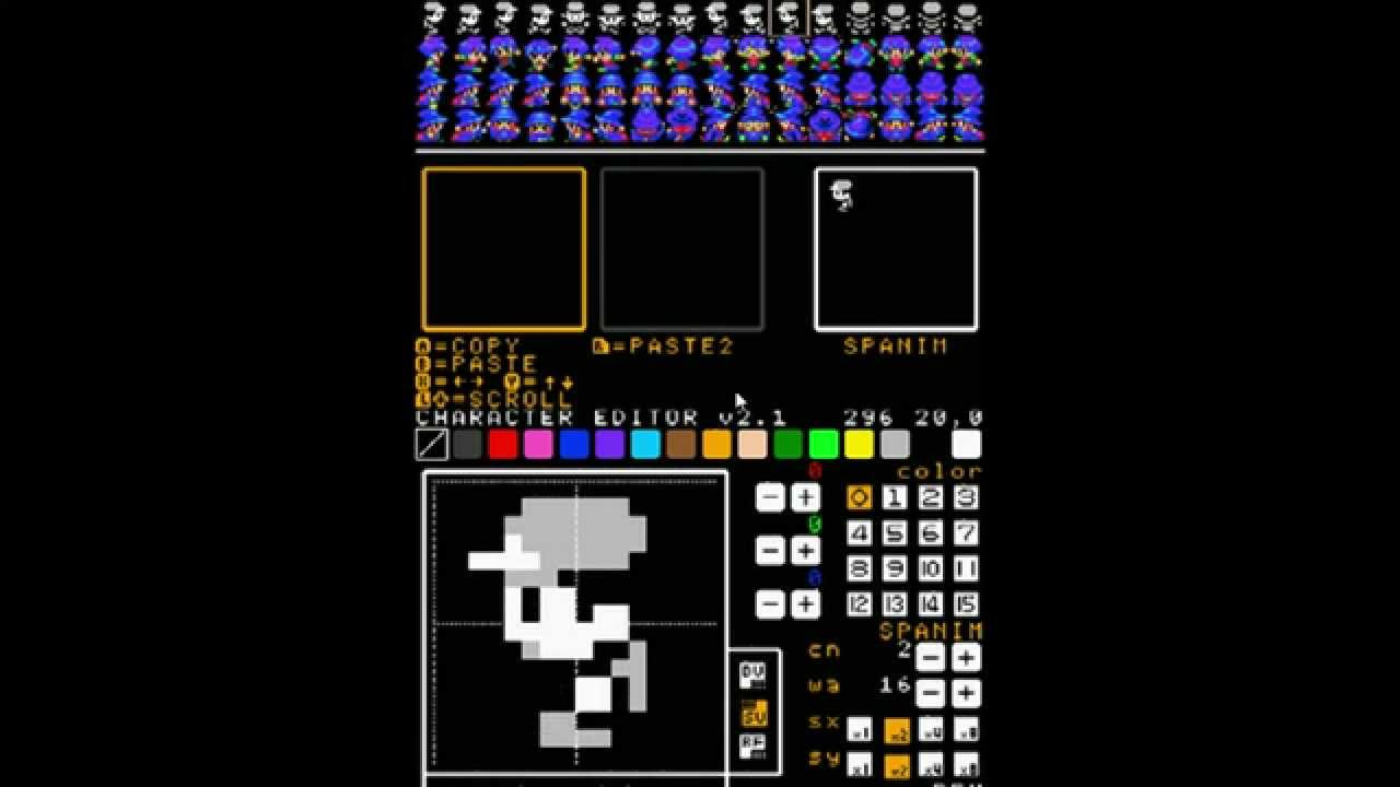 Petit Computer Tutorials – Custom Sprites | Video