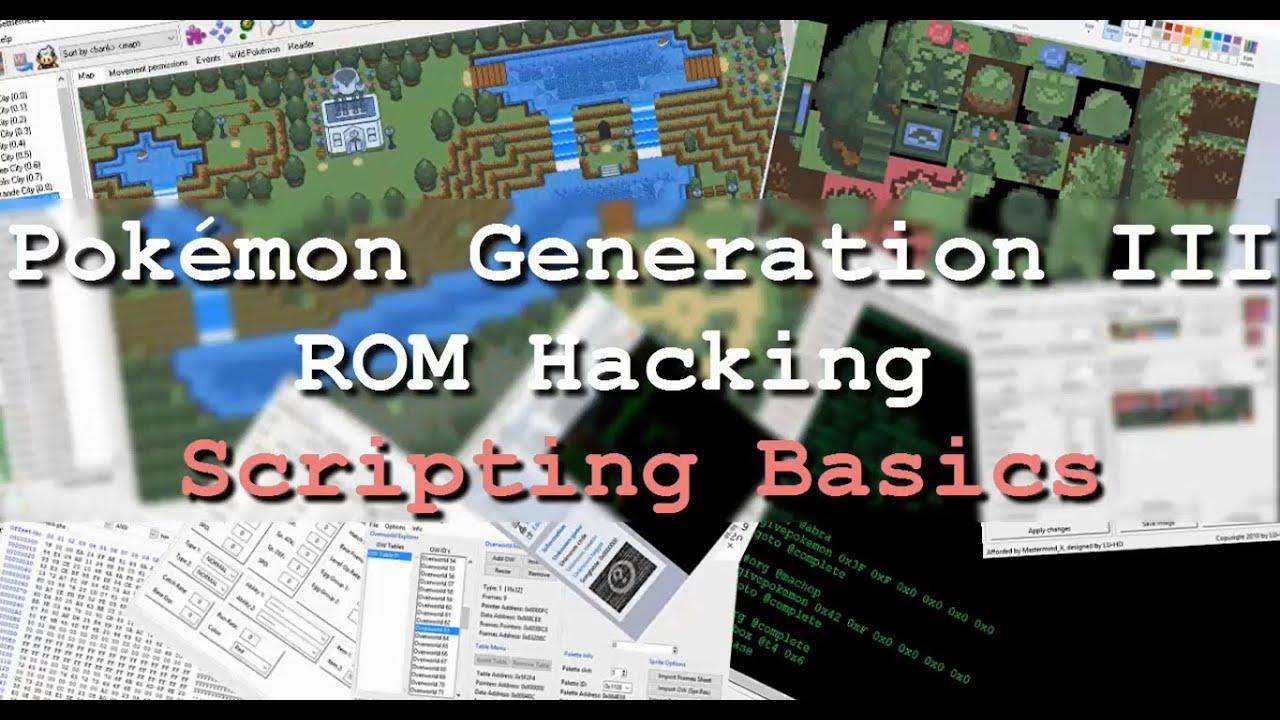 Pokémon Generation III ROM Hacking: Tutorial 7: The Basics of Scripting   Video