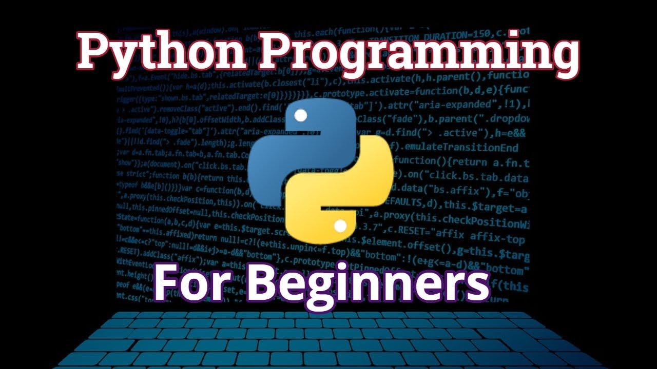 Python for Beginners | Python Tutorials | Python for Data Science | Video