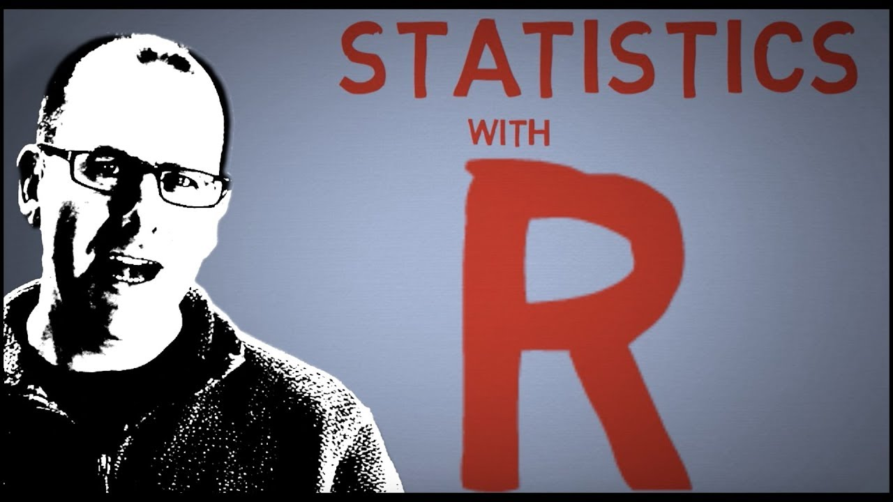 R programming for beginners – statistic with R (t-test and linear regression) and dplyr and ggplot   Video