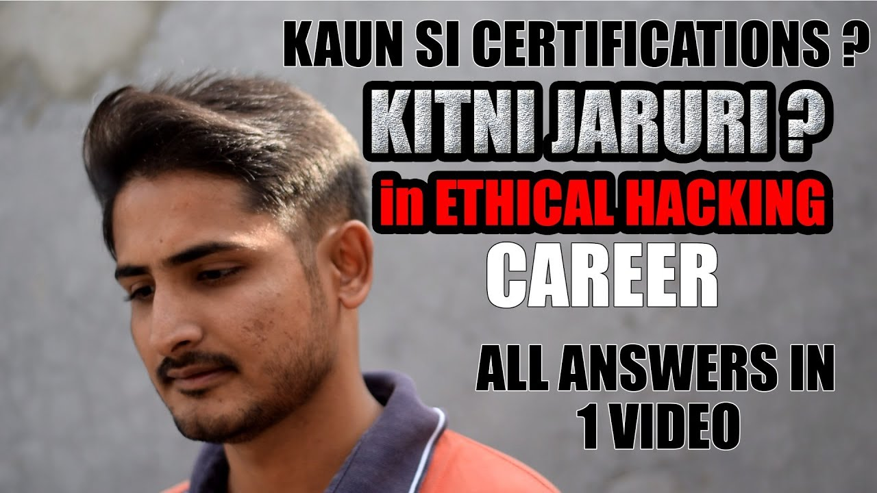 Role Of Certifications In Ethical Hacking Career | List Of Certifications | Must Watch Hackers 🔥🔥 | Video