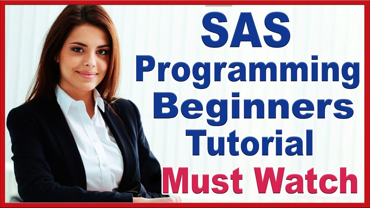 SAS Programming Tutorials For Beginners By Priya   SAS Online Training For Complete SAS Programming   Video