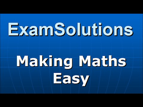 Standard Form (Scientific Notation) : ExamSolutions Maths Video  Tutorials | Video