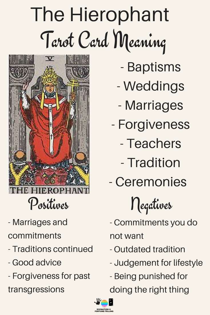 What Does it Mean When You Draw the Hierophant in a Tarot Reading ...