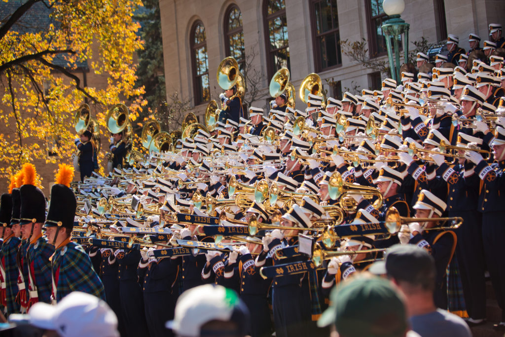 How To Perfect The Notre Dame Football Game Day Experience ...